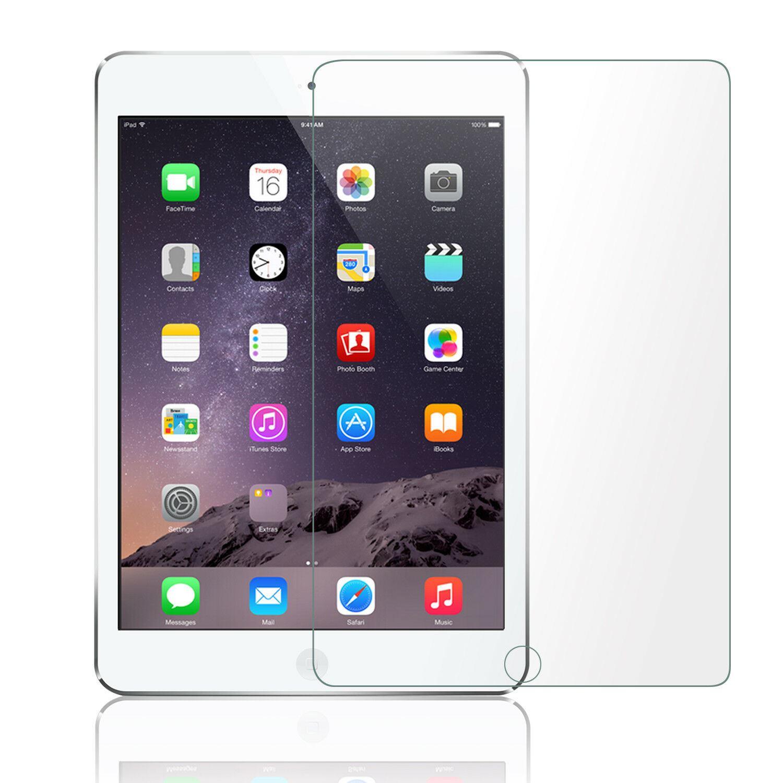 iPad 7 Pro 9.7 Şeffaf Temperli Cam