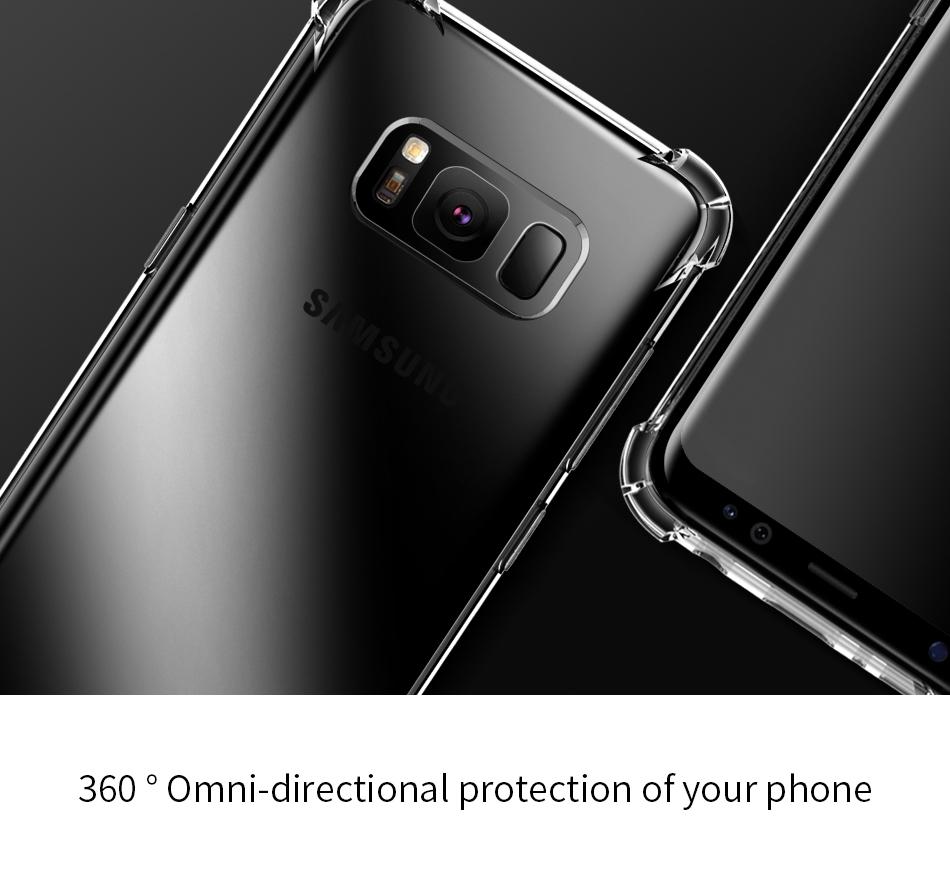 G950 S8 Anti Shock (Nitro) Silikon Koruma