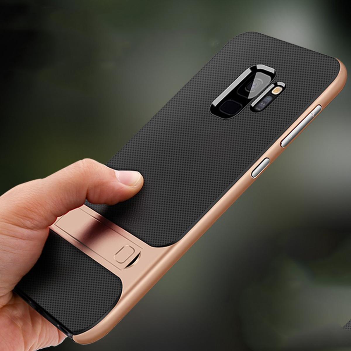 G965 S9 PLUS Verus Standlı Silikon Koruma