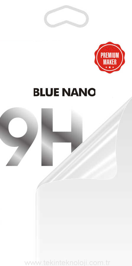 A8 2018 Blue Nano Ekran Koruyucu