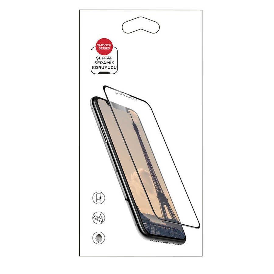 Huawei P40 Lite E Şeffaf Seramik Ekran Koruyucu