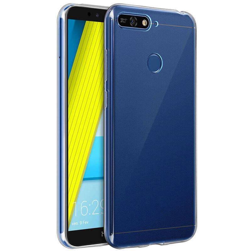 HUAWEI Y7 2018 Süper Silikon Koruma